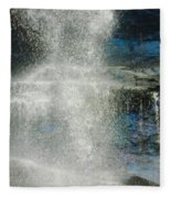 The Water Blue Fleece Blanket