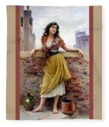 The Water Carrier Poster Fleece Blanket