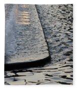 The Water Fountain Fleece Blanket