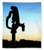 The Water Hydrant Fleece Blanket