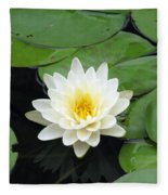 The Water Lilies Collection - 01 Fleece Blanket