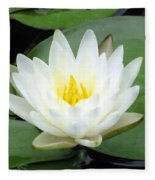 The Water Lilies Collection - 04 Fleece Blanket