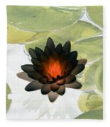 The Water Lilies Collection - Photopower 1034 Fleece Blanket