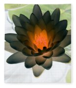 The Water Lilies Collection - Photopower 1035 Fleece Blanket