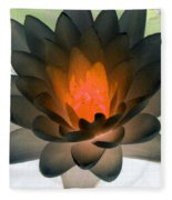 The Water Lilies Collection - Photopower 1036 Fleece Blanket