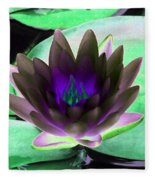 The Water Lilies Collection - Photopower 1116 Fleece Blanket