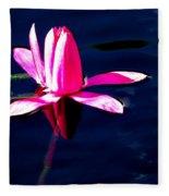 The Water Lily... Fleece Blanket