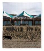 The Watering Hole Perranporth Fleece Blanket