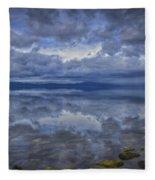The Waters Beneath Fleece Blanket