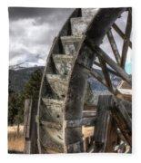 The Waterwheel Fleece Blanket