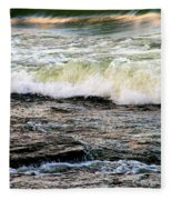 The Wave Fleece Blanket