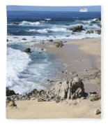 The Waves - The Sea Fleece Blanket