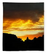 The Way A New Day Shines Fleece Blanket