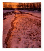 The Way Home Fleece Blanket