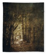 The Way Out Fleece Blanket