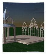 The Wedding Place Wip Fleece Blanket