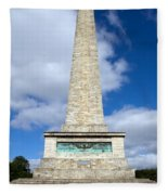 The Wellington Monument Fleece Blanket