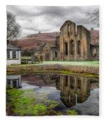 The Welsh Abbey Fleece Blanket
