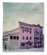 The Westminster Hotel Aka The Pit Fleece Blanket