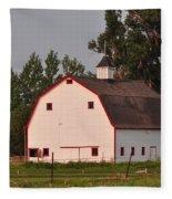 The White Barn Fleece Blanket