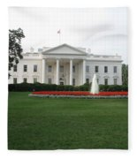 The White House - Washington D C Fleece Blanket
