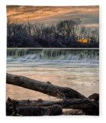 The White River Fleece Blanket