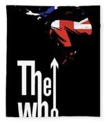 The Who No.01 Fleece Blanket