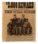 The Wild Bunch Fleece Blanket