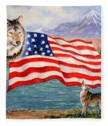 The Wildlife Freedom Collection 1 Fleece Blanket