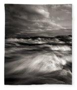 The Wind And The Sea Fleece Blanket