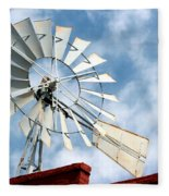 The Wind Wheel Fleece Blanket