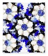The Windmills Of My Mind Bouquet Fleece Blanket