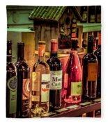The Wine Shop Fleece Blanket