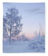 The Winter Light Fleece Blanket