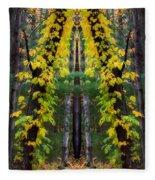 The Wishbone Tree Fleece Blanket
