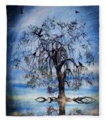 The Wishing Tree Fleece Blanket