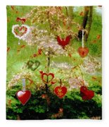 The Wishing Tree Fleece Blanket