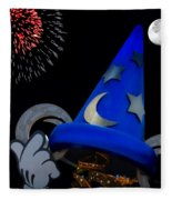 The Wizard Walt Disney World Fleece Blanket
