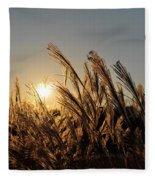The Wonder Of The Setting Sun Fleece Blanket