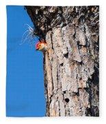 The Woodpecker Is In Fleece Blanket