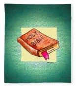 The Word Fleece Blanket