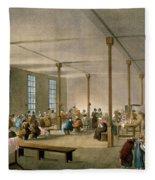 The Workhouse, St James, Parish, London Fleece Blanket