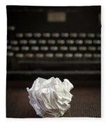 The Writer Fleece Blanket
