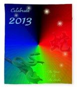 The Year Of The Snake Fleece Blanket