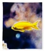 The Yellow Submarine Fleece Blanket
