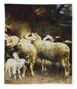 The Young Shepherd Fleece Blanket