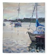 The Youngstown Yachts Fleece Blanket