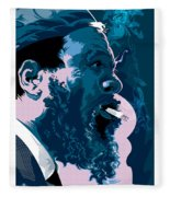Thelonius Monk Fleece Blanket