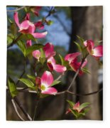 Them Cheery Little Dogwoods Fleece Blanket