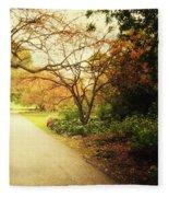 Then Autumn Arrives 04 Fleece Blanket